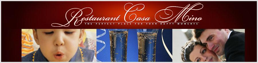 Restaurant CASA MINO Logo