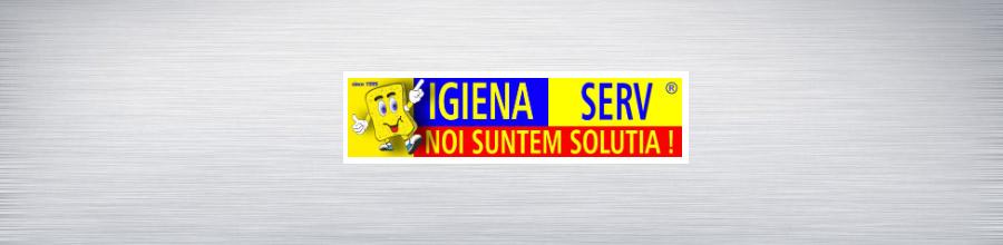 Igiena Serv - solutii complete de curatenie, igienizare, colectare deseuri periculoase in toata Romania ! Logo