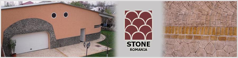 Stone Romania, Bucuresti - Pardoseli din beton amprentat Logo