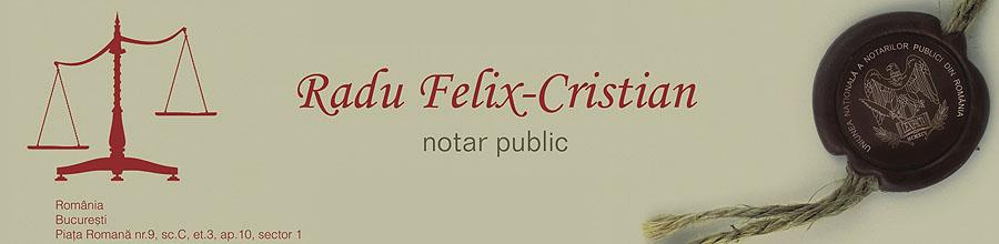 Birou Notarial RADU FELIX-CRISTIAN Logo