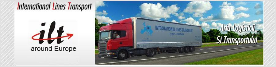 INTERNATIONAL LINES TRANSPORT Logo