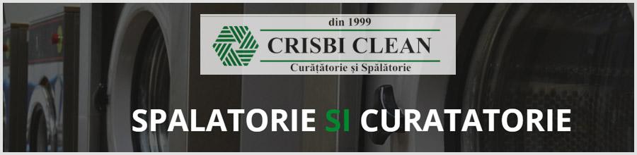 Crisbi Clean, Bucuresti - Spalatorie si curatatorie ecologica, curatatorie Logo