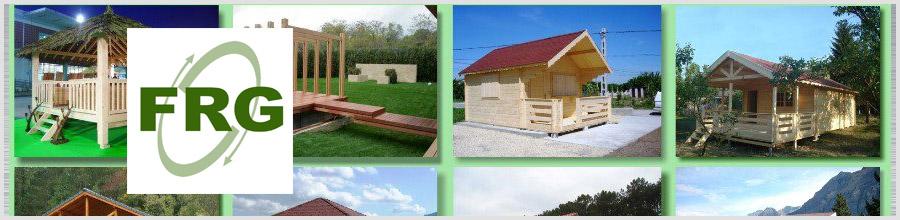 Fragetico Group - constructii din lemn si mobilier gradina Campina Logo