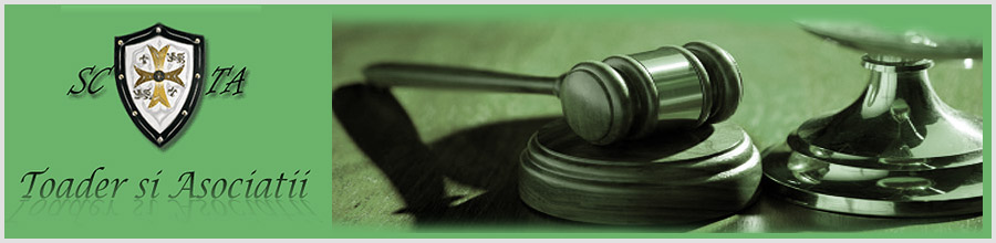 Societatea de avocatura Toader si Asociatii sector 1 Logo