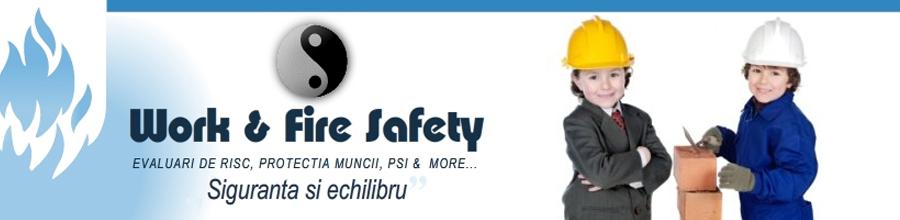 WORK & FIRE SAFETY Logo