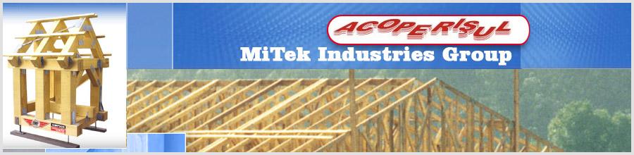 MiTek Industries Romania, Bucuresti - Programe de proiectare case din lemn Logo