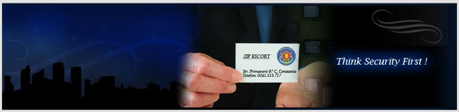 ZIP ESCORT Logo