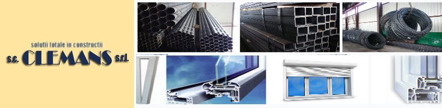 CLEMANS - comercializare materiale de constructi Pitesti Logo