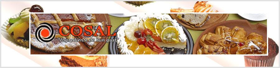 COSAL - Ingrediente pentru patiserie si cofetarie Logo