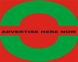 ADVERTISE HERE NOW Logo