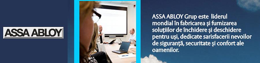 Assa Abloy, Solutii pentru inchidere, sisteme de siguranta - Bucuresti Logo