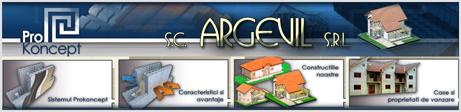 ARGEVIL Sisteme de constructii Harghita Logo