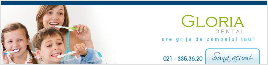 Gloria Dental - Cabinet Stomatologic Logo