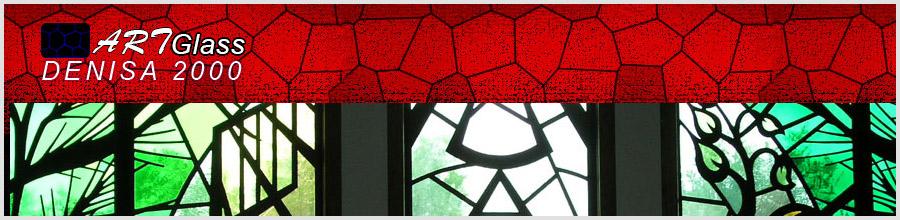 Art Glass Denisa 2000 - Pereti, usi, balustrade, placari si pardoseli din sticla, Jilava / Ilfov Logo