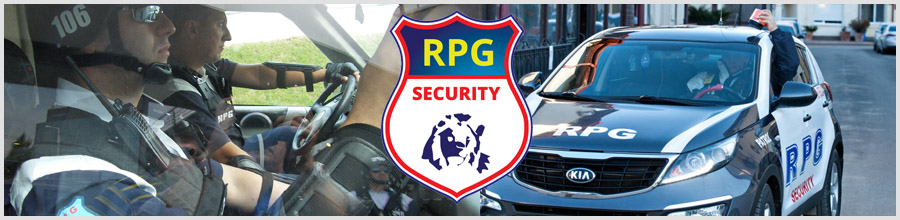 RPG SECURITY Logo