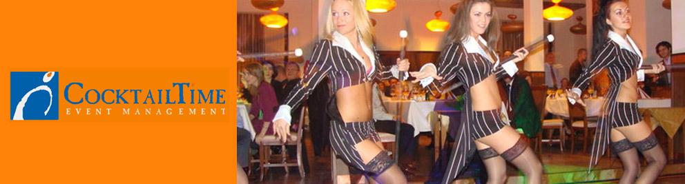 Cocktail Time Event Management Logo