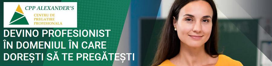 Centrul de Pregatire Profesionala Alexanders Bucuresti Logo