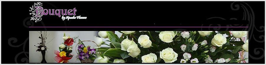 APACHE NATURAL FLOWERS - Bouquet Logo