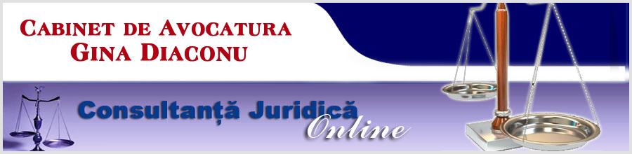 Cabinet de Avocatura Gina Diaconu Logo