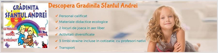 Sf. Andrei - Gradinita & After School Bucuresti Logo