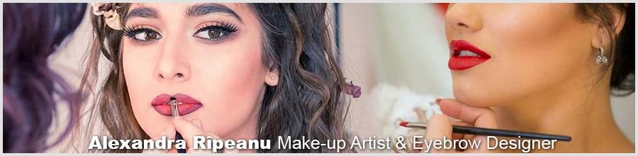 Alexandra Rîpeanu Make-up Artist & Eyebrow Designer - Bucuresti Logo