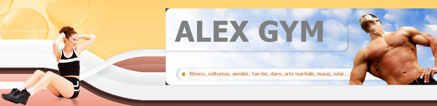 Alex Gym Fitness Logo