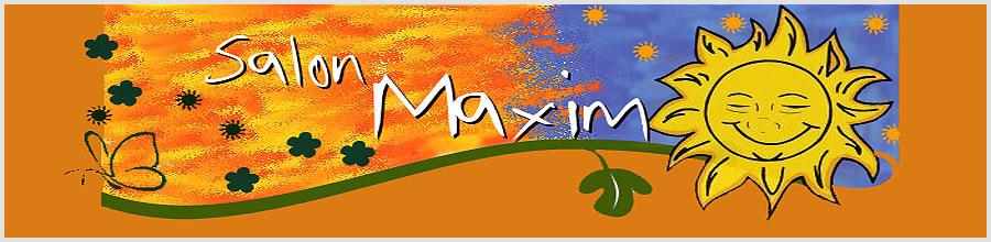 SALON MAXIM Logo