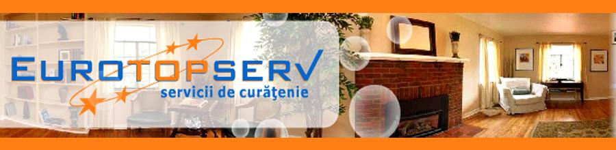 Eurotopserv - servicii profesionale de curatenie Bucuresti Logo