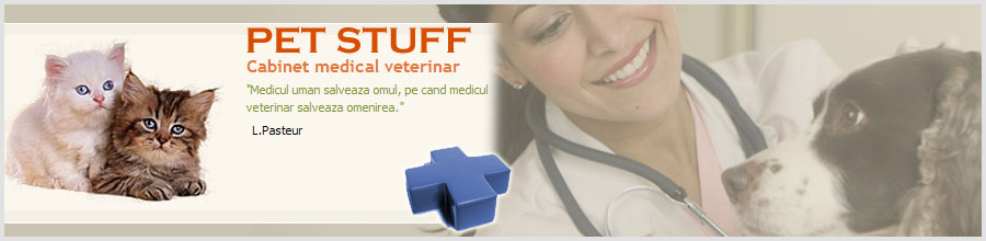 CABINET VETERINAR PET STUFF UNIVERS Logo