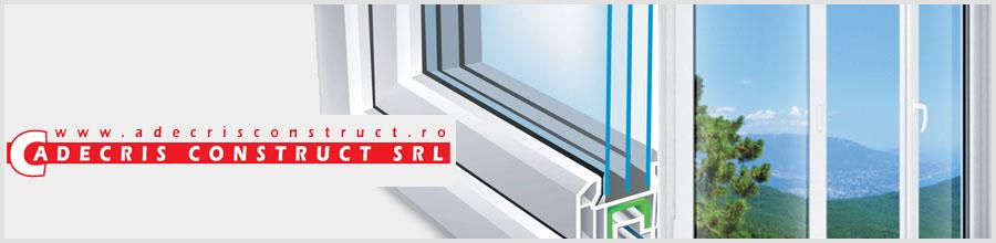 New Adecris Cons - Producator de tamplarie PVC cu geam termopan, Baicoi / Prahova Logo