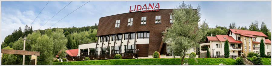 Complex Turistic LIDANA**** JUD. SUCEAVA Logo