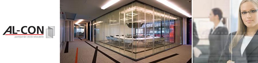Alcon Glazing Systems, Bucuresti - Inchideri balcoane, terase, compartimentari sticla Logo