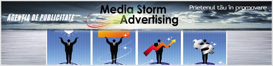 MEDIA STORM ADVERTISING Logo