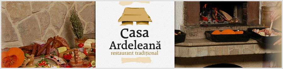 RESTAURANT CASA ARDELEANA Logo