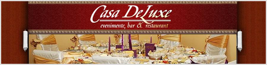 RESTAURANT Casa DeLuxe Logo