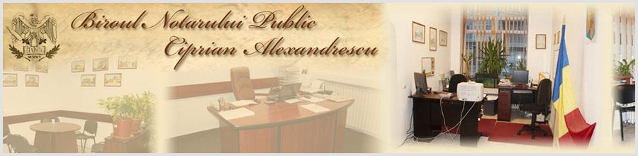 Birou Notarial Constanta - ALEXANDRESCU CIPRIAN Logo