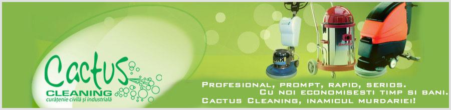 CACTUS CLEANING Logo