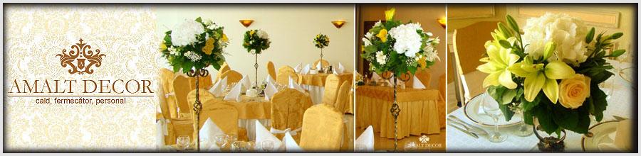 AGENTIA AMALT DECOR - Organizare evenimente, nunti, botezuri Logo