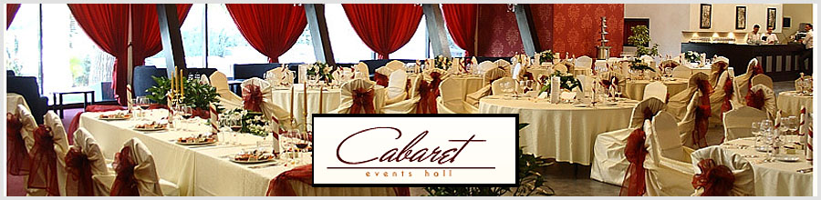 CABARET EVENTS HALL Logo