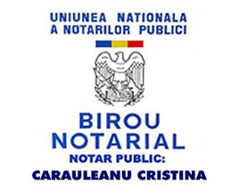 Birou Notarial CARAULEANU CRISTINA Logo