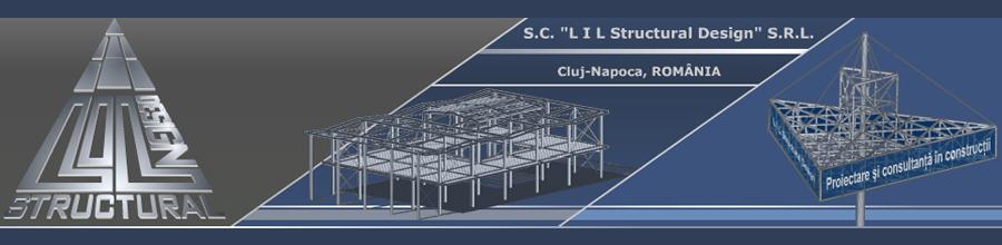 L I L Structural Design, Cluj-Napoca - Proiectare si antreprenoriat constructii Logo