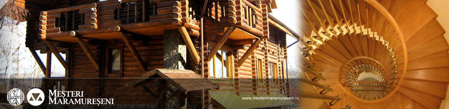 Mesteri Maramureseni - Scari, foisoare, terase, pergole, verande si mobilier din lemn, Bucuresti Logo