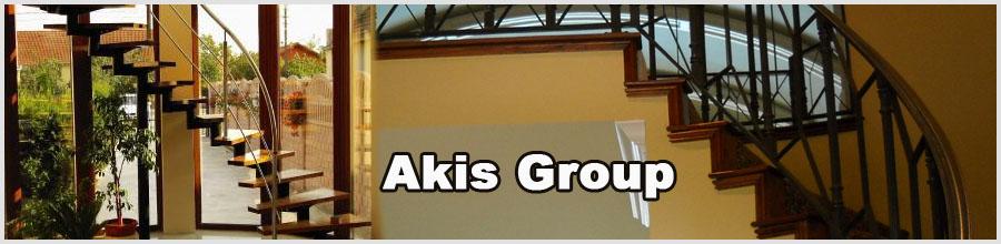 Akis Group, Timisoara - Confectii metalice inox, amenajari case Logo