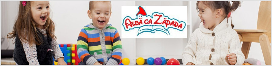 Alba ca Zapada, Gradinita - Bucuresti Logo