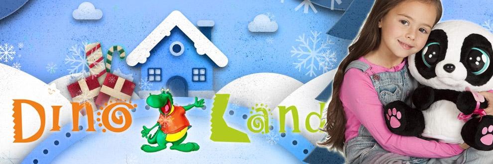 DINO LAND Magazin online jucarii Cluj Logo