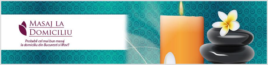 MASAJ LA DOMICILIU Logo