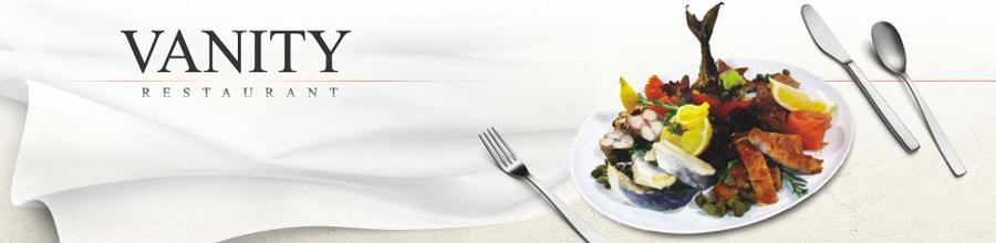 Vanity Restaurant Logo