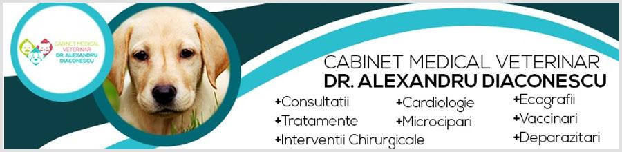 Cabinet medical veterinar dr. Diaconescu Alexandru Logo