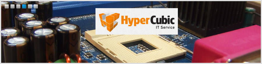 HyperCubic IT Outsourcing - Service si Mentenanta Computere Bucuresti Logo