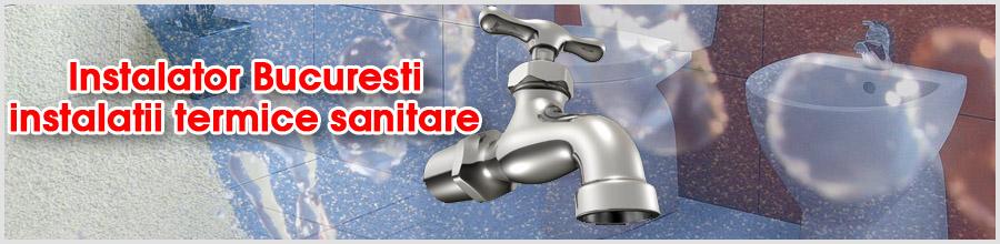Instalator Bucuresti instalatii termice sanitare Logo